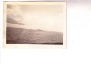 Photograph, SS Boriquen Passenger Liner Ship at Sea July 1937