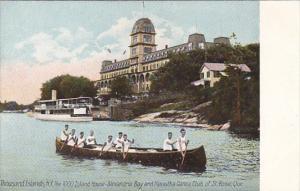 HIawatha Canoe Club Of St Rose Quebec Thousand Islands New York