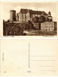 CPA AK KRAKOW Wawel POLAND (288433)