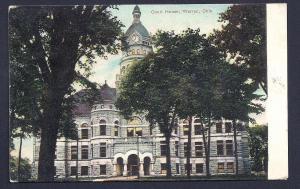 Court House Warren Ohio used c1908