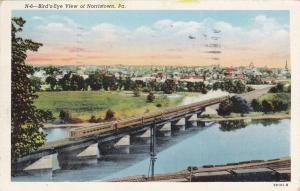 NORRISTOWN , Pennsylvania , PU-1948; Bird's Eye View