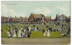 Norfolk; The Green, Hunstanton PPC 1921 PMK, To Miss D Randall, Old Basing