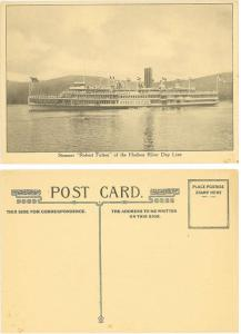 Steamer Robert Fulton of the Hudson River Day Line