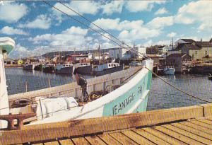 Fishing Boats Cheticamp Cape Breton Nova Scotia Canada