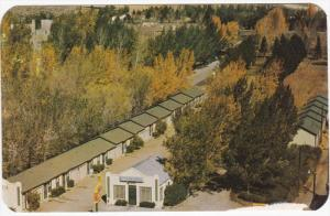 Lincoln Highway : O'Driscoll Motel , RAWLINS , Wyoming , 1950s