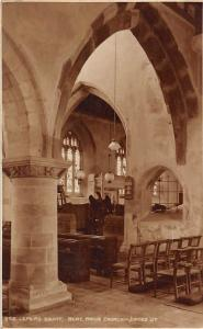 Lepers Squint, Bere Regis Church Interior Eglise