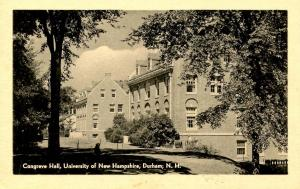 NH - Durham. University of New Hampshire. Congreve Hall