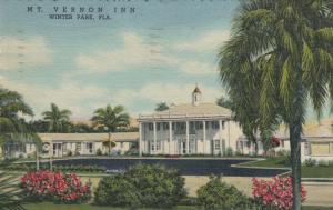 WINTER PARK , Florida , 1930-40s ; Mount Vernon Inn