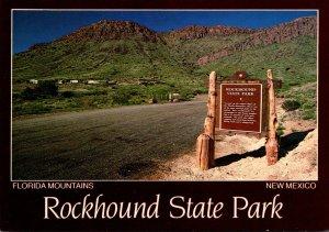 New Mexico Florida Mountains Rockhound State Park