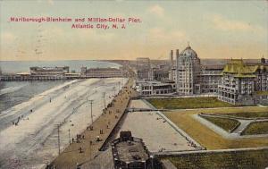 Marlborough Blenheim And Million Dollar Pier Atlantic City New Jersery 1915
