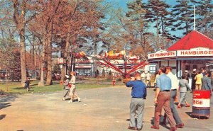 North Dartmouth MA Lincoln Amusement Floral Garden Ballroom Wonderland Postcard
