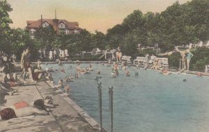 HARRISBURG, Virginia , 1900-10s ; Massanetta Springs , The Hudson Memorial Pool