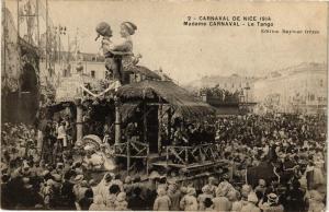 CPA  Carnaval de Nice - Madame Carnaval - Le Tango  (203555)