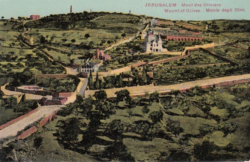 Jerusalem , 00-10s ; Mont des Oliviers