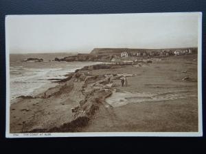 Cornwall BUDE The Coast c1930's Old Postcard