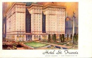 California San Francisco Hotel St Francis Union Square