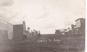 RP: CABRI , Saskatchewan , Canada , PU-1916 ; Centre Street