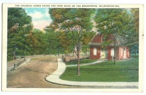 The Colonial Dames House and Park Drive on the Brandywine