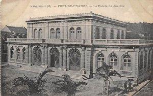 La Palais de Justice Fort-de-France Martinique Unused