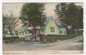 Methodist Episcopal Church Shelburne Falls Massachusetts 1917 postcard