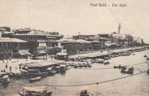 PORT SAID , Egypt , 00-10s ; The Quai