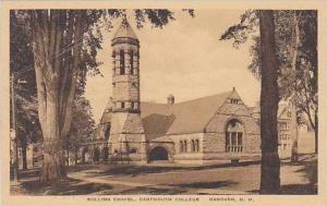 New Hampshire Hanover Rollins Chapel Dartmouth College Albertype