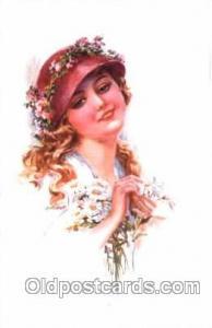 series 301/6 Artist Lottie Usabel (Italian) Postcard Post Card Series 301/6 s...