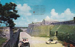 Famous Fort Charlotte,  Old British Forts,  Nassau,  Bahamas,   PU_1960
