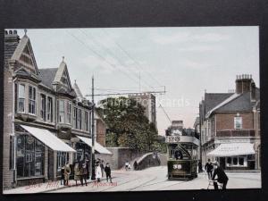Monmouthshire: Newport,Stow Hill Montre Tram 39 & Dewsland Boutique c1908 par M.