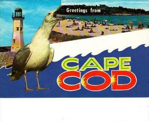 Massachusetts Cape Cod Greetings From