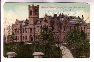 Old Arts Building, Queen's University, Kingston, Ontario, RPO Cancel, Gt RY, ...