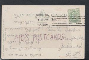 Family History Postcard- Hicks - 4 Northampton Buildings, Julian Rd, Bath RF4948