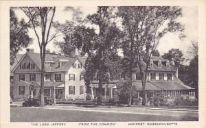 Massachusetts Amherst The Lord Jeffery From The Common