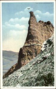 Yellowstone? Eagle's Nest Rock c1910 Detroit Publishing Postcard