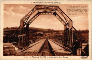 CPA AK Le Viaduc des FADES L'Entrée et le Pont roulant (409803)