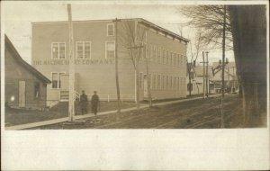 Malone NY Shirt Factory c1905 Real Photo Postcard