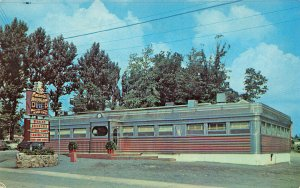 Wind Gap PA Caesar's Diner Gateway to The Poconos Postcard