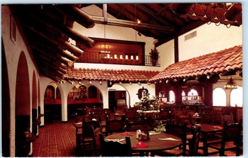 Concord California Ca Tia Maria Mexican Restaurant Free Meal Postcard 1971