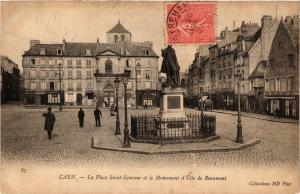 CPA CAEN - La Place St-Sauveur (276544)