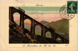 CPA LOURDES Le Funiculaire du Pic du Fer (412416)
