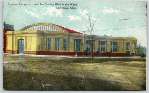 Cleveland Ohio~Elysium Ice Skating Rink~107th & Euclid~Demolished 1951~c1910