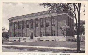 Minnesota Minneapolis New Law Building University of Minnesota Albertype
