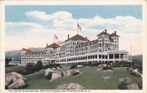 New Hampshire White Mountains The Mouint Washington Bretton Woods 1918