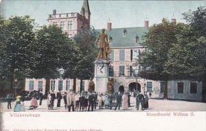 Netherlands Gravenhage Standbeeld Willem II