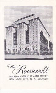 Roosevelt Hotel New York City