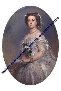 mm707-Princess Victoria Princess Royal daughter QV & mother Kaiser art-photo6x4