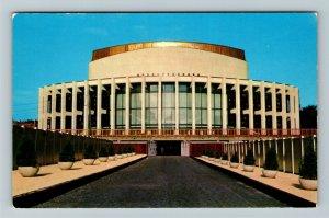 Montreal Qu- Quebec, Place de Arts, Modern Cultural Complex, Chrome Postcard