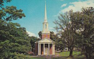 Canada Manning Memorial Chapel Acadia University Wolfville Nova Scotia