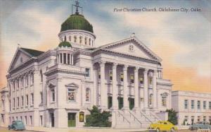 Oklahoma City First Christian Church 1950