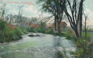 Pretty River at Collingwood, Ontario, Canada - pm 1906 - UDB